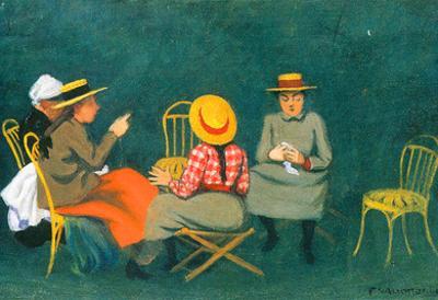 Felix Vallotton The Women Art Print Poster