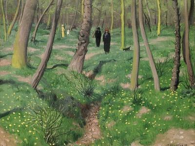 Undergrowth in Spring, 1923