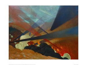 Verdun, Tableau de Guerre Interprete by Félix Vallotton