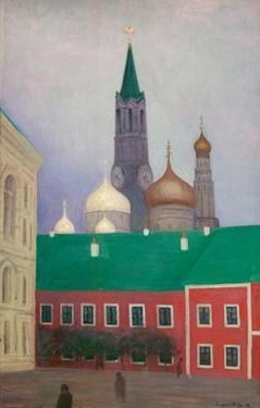 View of the Cremlin in Moscow by Félix Vallotton