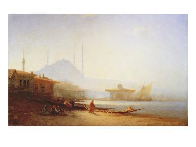 View of Istanbul, 1864