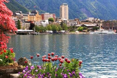 Montreux and  Lake Geneva, Switzerland. by felker