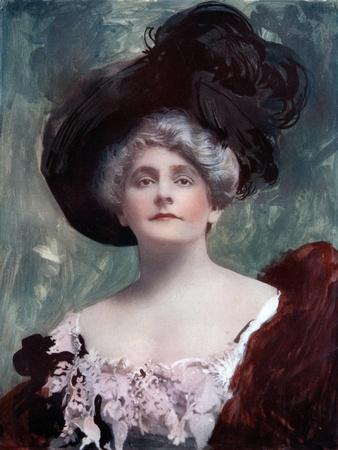 Cecil Raleigh (1856-191), English Actress, C1902