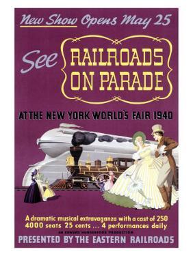 Railroads on Par, New York World's Fair by Felten