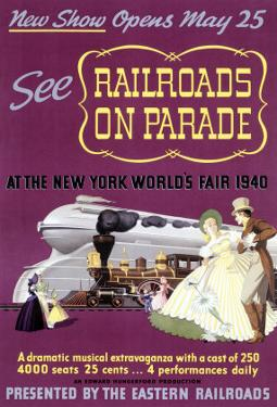 Railroads on Par, New York World's Fair by Felten