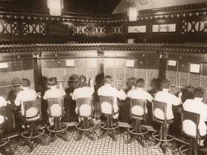 Female Switchboard Operators