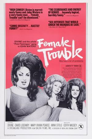 Female Trouble, 1974