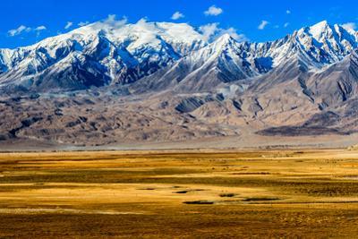 Autumn Prairie on Pamir, Xinjiang China by Feng Wei Photography