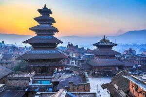 Dawn at Bhaktapur, Nepal by Feng Wei Photography