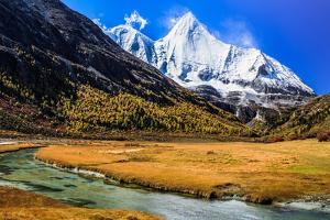 Jambeyang, Yading Nature Reserve, Sichuan China by Feng Wei Photography