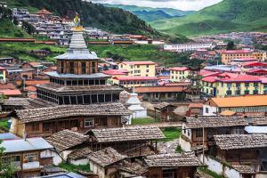 Kerti Gompa, Sichuan China by Feng Wei Photography