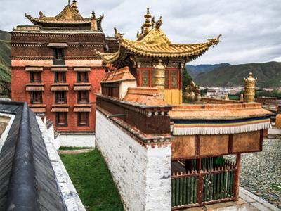 Labrang Lamasery, Gansu, China by Feng Wei Photography