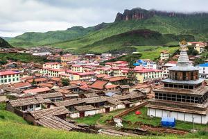 Langmusi, Gansu, China by Feng Wei Photography