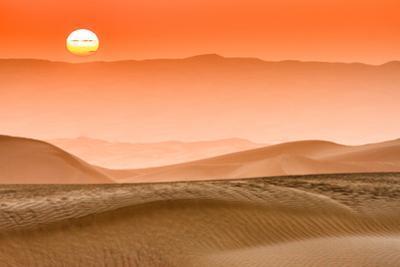 Sunrise in Taklamakan Desert, Xinjiang China by Feng Wei Photography