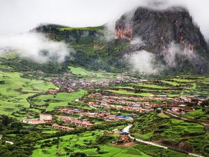 Zhagana Village, Gansu China by Feng Wei Photography