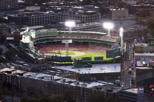 Fenway Park Baseball Ground in Boston, USA