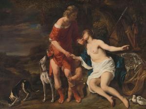 Venus and Adonis, 1657-60 by Ferdinand Bol