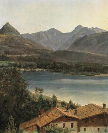 Wolfgangsee, Lake Wolfgang in the Salzkammergut