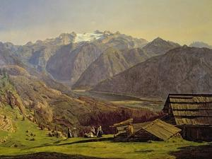 Hallstatter-See by Ferdinand Georg Waldmuller