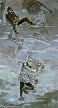 Ascent Ii by Ferdinand Hodler
