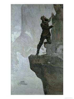 Ascent III by Ferdinand Hodler
