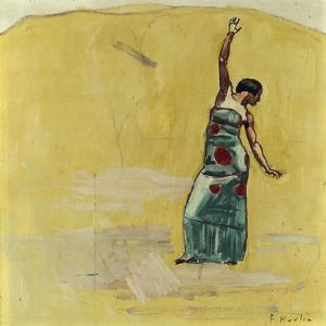 Danseuse by Ferdinand Hodler