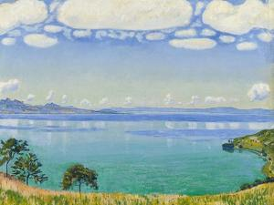 Lake Geneva Seen from Chexbres, 1905 by Ferdinand Hodler
