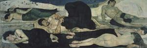 Night, 1889-1890 by Ferdinand Hodler
