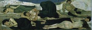 Night, 1890 by Ferdinand Hodler