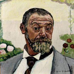 Self-Portrait by Ferdinand Hodler