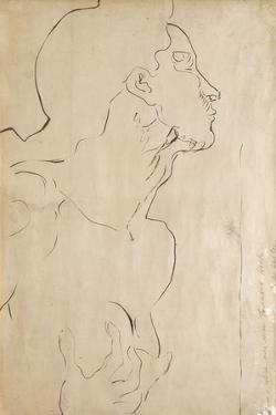 Study for 'Feeling I', 1901 by Ferdinand Hodler