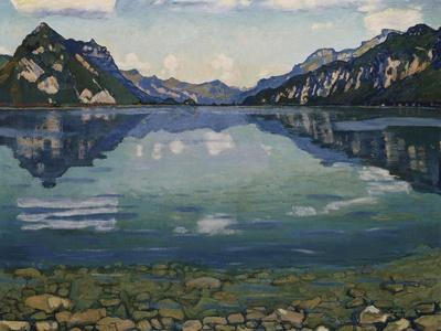 Thunersee with Reflection, 1904