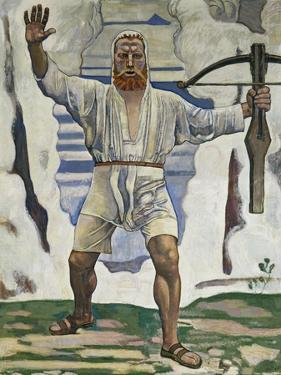 William Tell, 1897 by Ferdinand Hodler