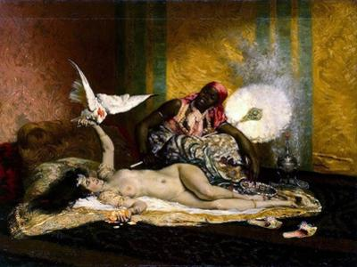 Odalisque, 1870S
