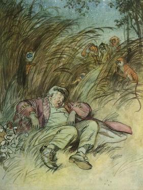 SHAKESPEARE - HAMLET Act by Ferdinand Victor Eugene Delacroix