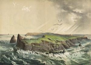 The Island of Saint-Paul in the Indian Ocean: a Former Volcano by Ferdinand Von Hochstetter