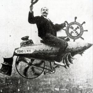 Ferdinand Zecca in 'Conquering the Skies', 1936