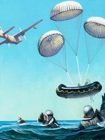 The Story of the Parachute: Sky-Divers of the Future