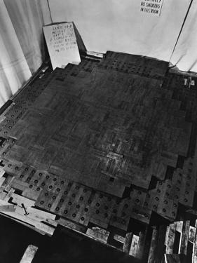 Fermi's Atomic Pile under Construction