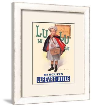 Lu Biscuits - The Little Student (Le Petit Ecolier) - Lefèvre-Utile (LU) by Fermin Bouisset