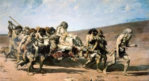 Cain, No. 21 the Conscience, from The Legend of the Centuries by Victor Hugo, 1859, 1880 by Fernand Cormon