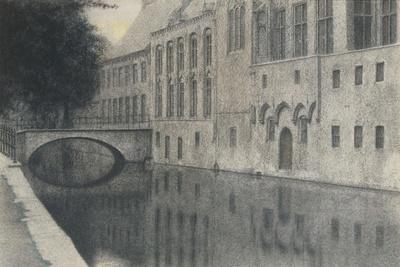 A Souvenir of Flanders (A Canal) 1904