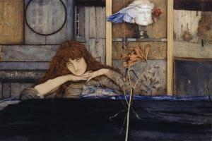 I Lock My Door Upon Myself by Fernand Khnopff