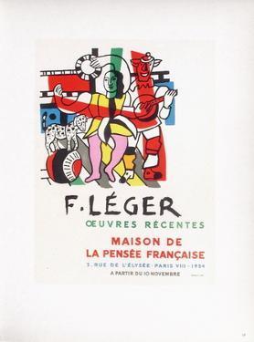 AF 1954 - Maison De La Pensée Française by Fernand Leger