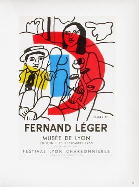 AF 1955 - Musée De Lyon by Fernand Leger