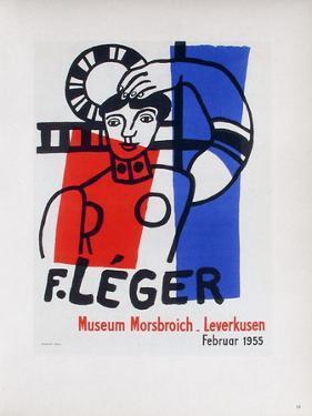 AF 1955 - Musée Morsbroich by Fernand Leger