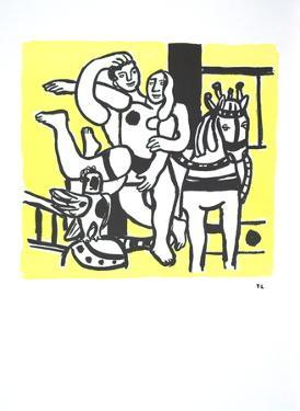 Le Jeu (The game) by Fernand Leger