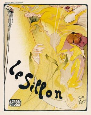Poster for le Sillon Belgium by Fernand Toussaint