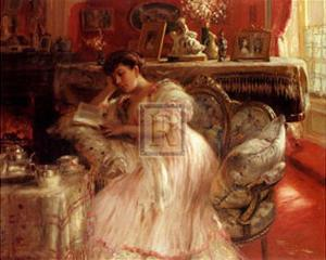 Quiet Afternoon by Fernand Toussaint
