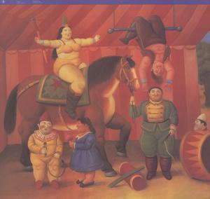 Gente Del Circo by Fernando Botero